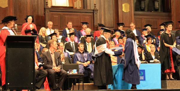 Elaines graduation