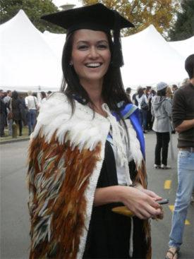 Stacey Gillard graduating 2010
