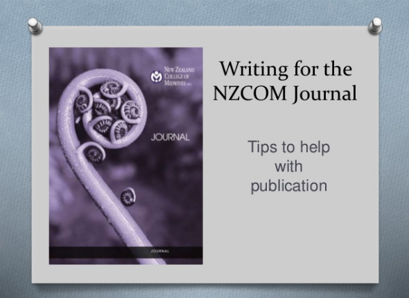 video image – writing for Journal