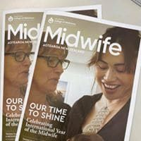 Midwife magazine cover